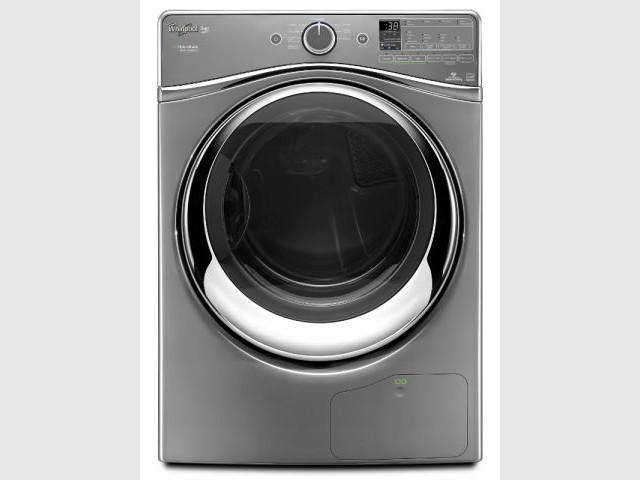 Un sèche-linge capable de réaliser deux lessives