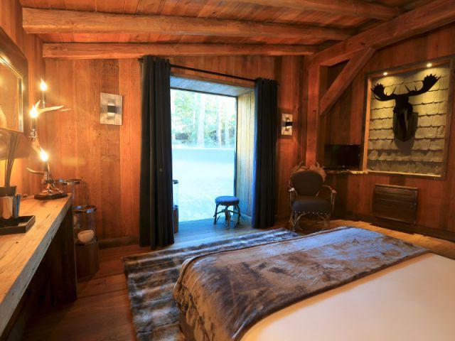 Une chambre façon cabane de trappeur - Arctic Lodge