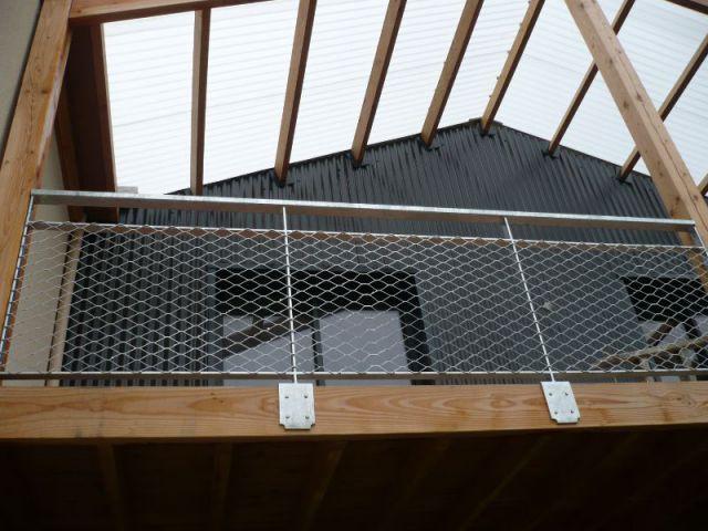 Une toiture en polycarbonate - Maison Logémaine Angers