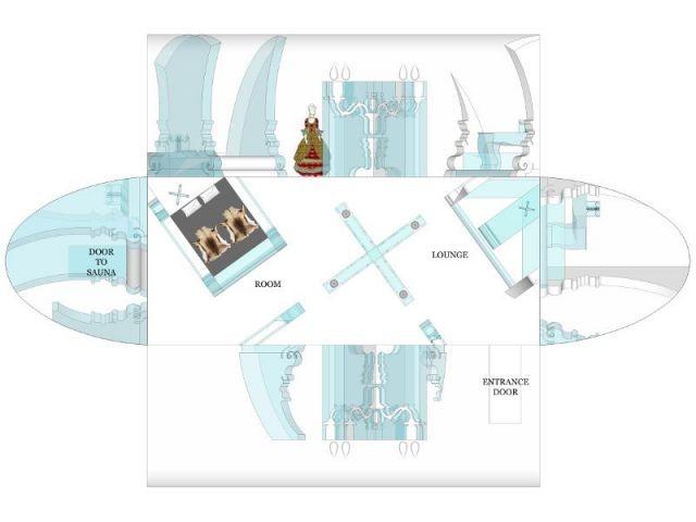 Fiche technique - Hôtel de glace suite Rococo