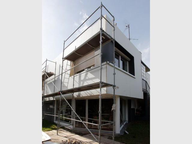 Une pose simplifiée pour un chantier ultra-rapide - Isolation thermique et d'un ravalement de façade en 20 jours