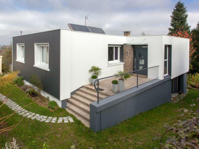 Une maison qui retrouve de son cachet - Isolation thermique et d'un ravalement de façade en 20 jours