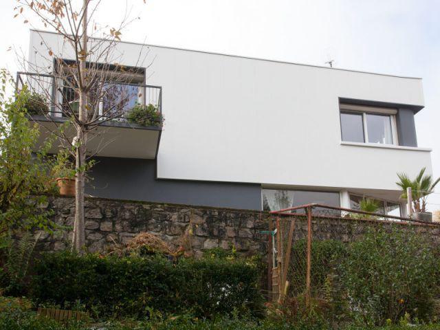 Fiche technique de la rénovation - Isolation thermique et d'un ravalement de façade en 20 jours