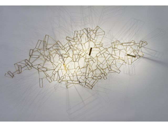 Applique Ossature d'Eric de Dormaël - Grand Prix du Luminaire 2015