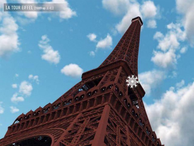 Paris 3D : la tour Eiffel