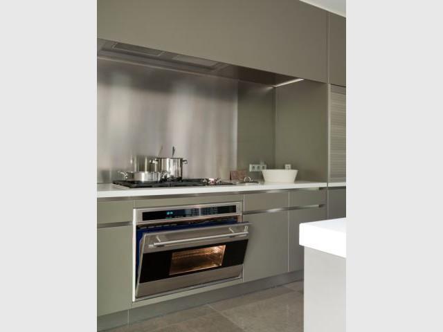 Un espace de cuisson aux multiples fonctions - Création de deux cuisines