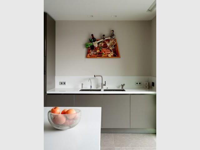 Une espace dédié au lavage - Création de deux cuisines