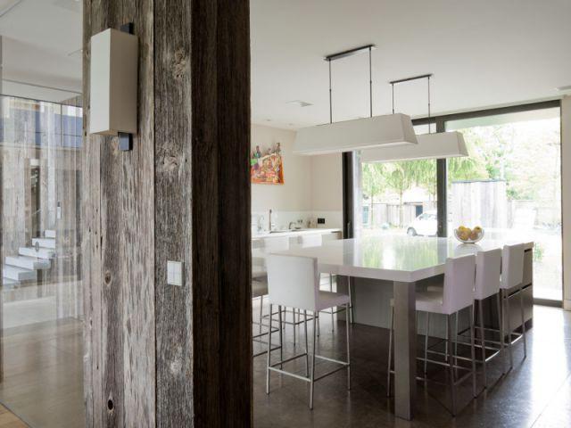 Une cuisine baignée de lumière - Création de deux cuisines