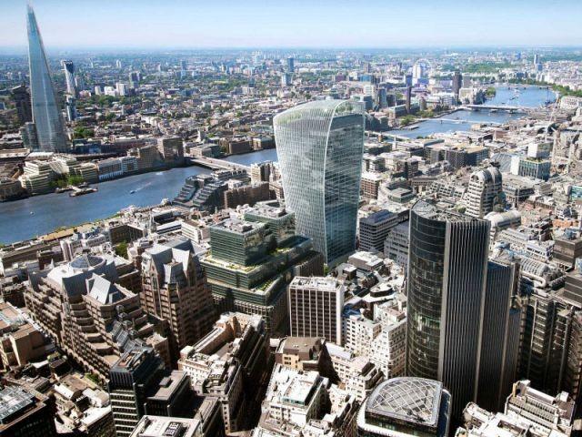 """Une façade concave aux reflets... brûlants ! - Inauguration du """"Sky Garden"""" à Londres"""