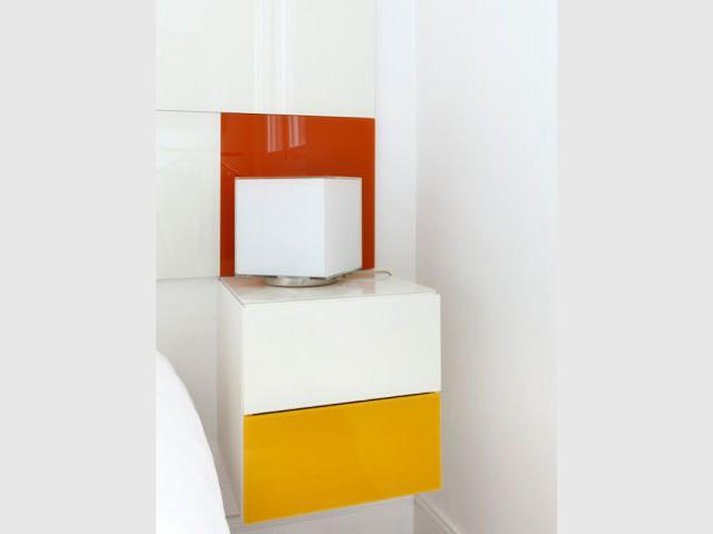 Fiche technique du projet - Un appartement fonctionnel et rafraichissant aux touches de couleurs pop
