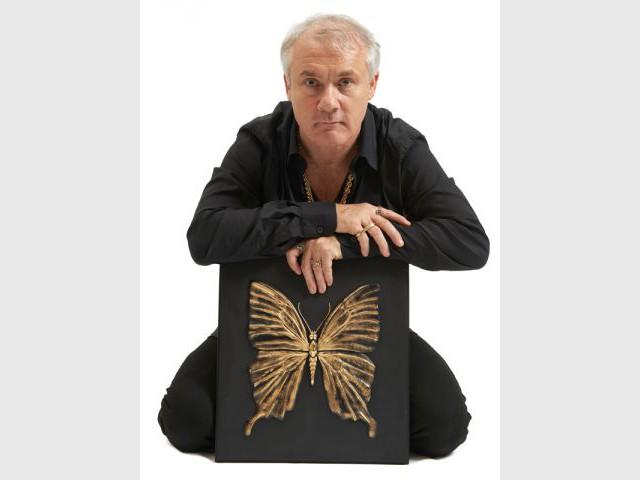 Une collection de panneaux à l'effigie du papillon - Damien Hirst & Lalique