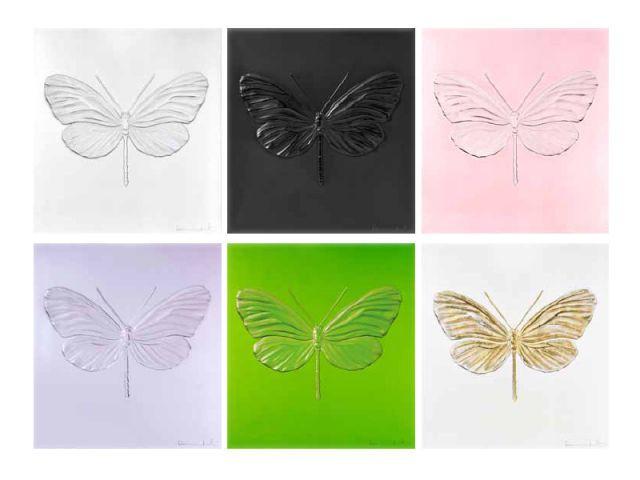 Des papillons qui reviennent à la vie - Damien Hirst et Lalique, 2015