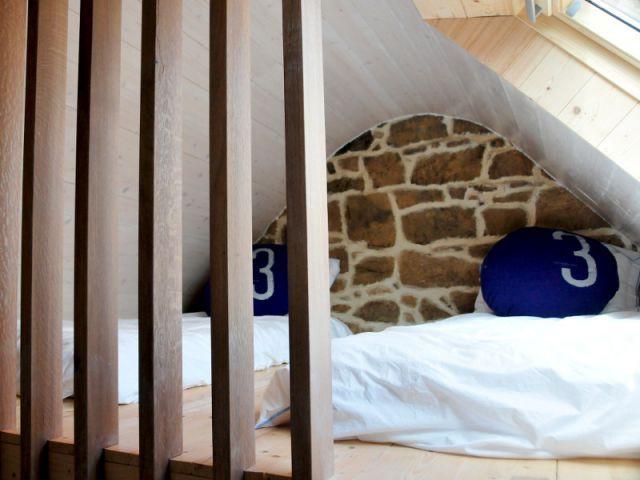 Des réaménagements pour accueillir douze personnes - Une longère bretonne devenue demeure design