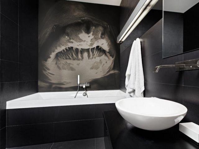 Un méga zoom possible - L'art contemporain s'invite dans la cuisine et la salle de bains