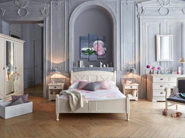 Accessoiriser les niches pour les transformer en têtes de lit - Aménager une chambre dans un appartement de style