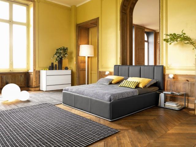 Oser les teintes vives pour dynamismer la chambre - Aménager une chambre dans un appartement de style