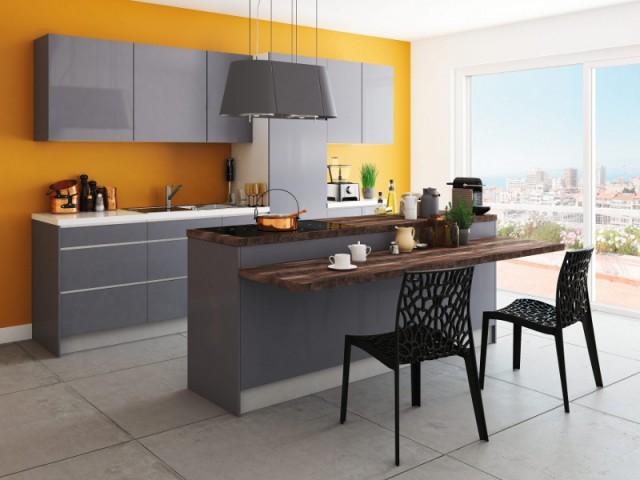 Une hotte comme un luminaire pour une cuisine sans électroménager visible - Ces hottes de cuisine qui se fondent dans le décor