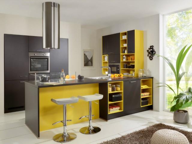 Une hotte cylindrique pour une cuisine futuriste - Ces hottes de cuisine qui se fondent dans le décor