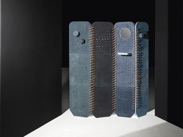Un paravent fabriqué à partir de poussière de cuir - Aide à Projet VIA 2015