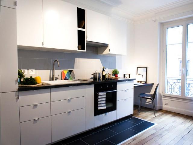 Un bureau en prolongement de la cuisine - Budget serré pour une rénovation complète