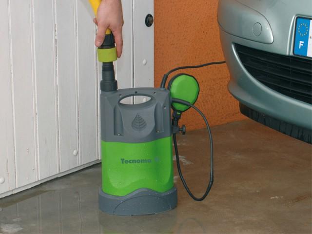 Installer une pompe d'évacuation dans son sous-sol ou son garage - Inondations