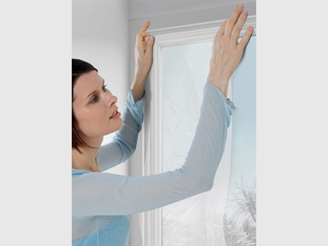 Isoler les parties vitrées de ses fenêtres - Grand froid