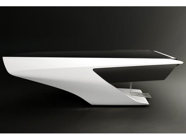 Un piano ultra futuriste - Piano futuriste