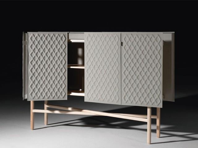 Un meuble de rangement capable d'amortir les sons - Atmosphères, Normal Studio