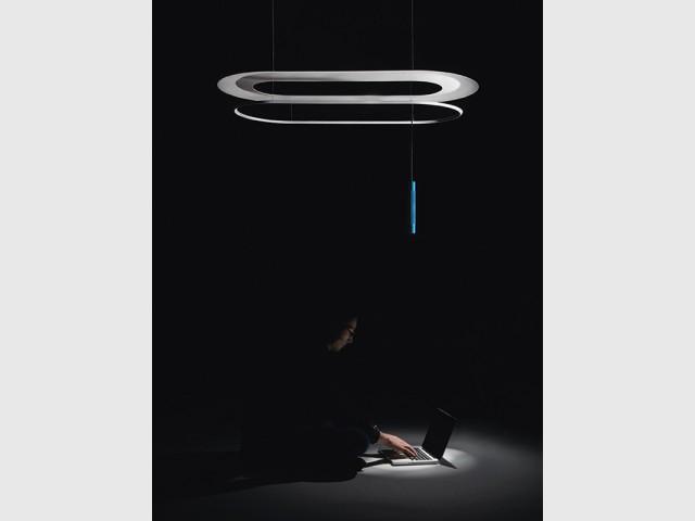 Un luminaire capable de transmettre des informations numériques - Atmosphères, Normal Studio