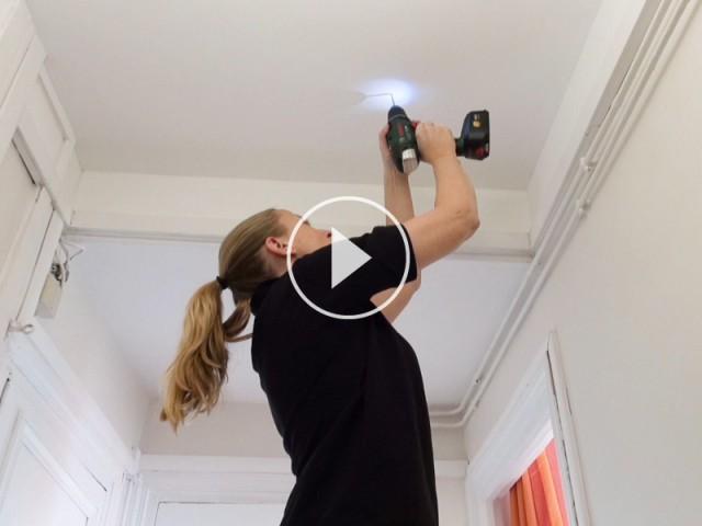 Capture écran vidéo : installation d'un DAAF