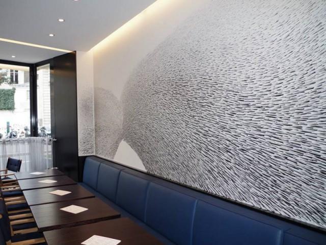 Des œuvres entre abstraction et figuratif qui font appel à l'imagination de tous - Les fresques murales d'Alix Waline