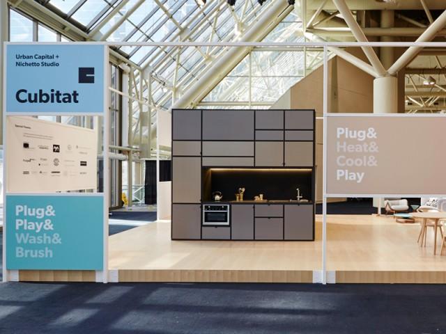 Un concept expérimental imaginé par une agence d'architecture canadienne - Cubitat - Urban Capital
