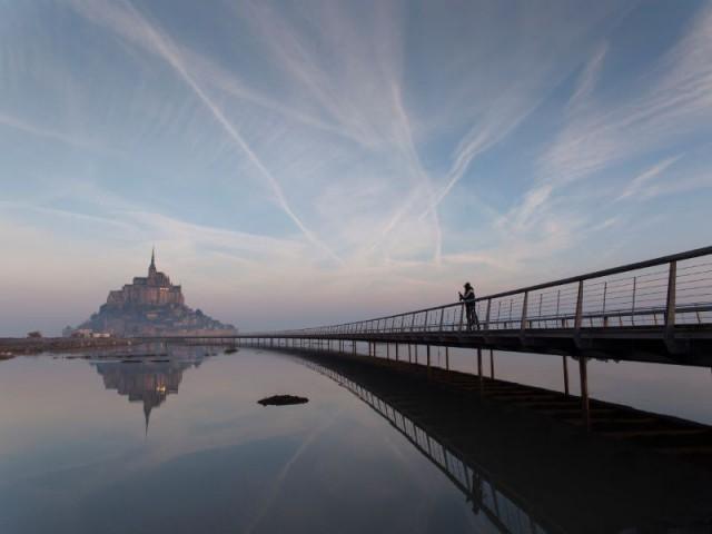 Mont-Saint-Michel : la destruction de la digue-route, dernière étape de l'opération d'aménagement
