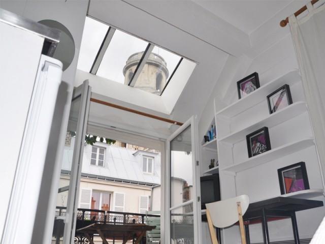 Des zones de vie distinctes au sein d'une même pièce - Rénovation studio