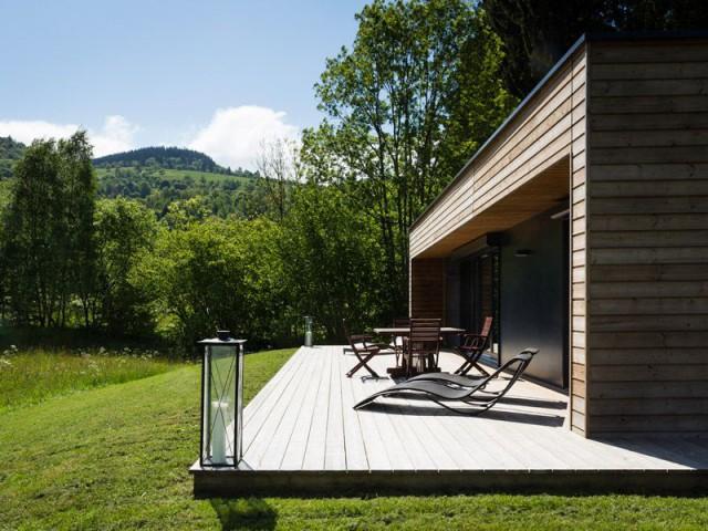 Terrasse avec vue - Maison Booa