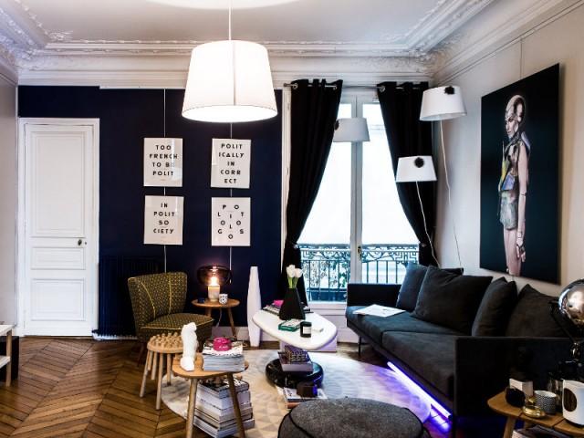 Un aménagement éclectique - Appartement Ticolas