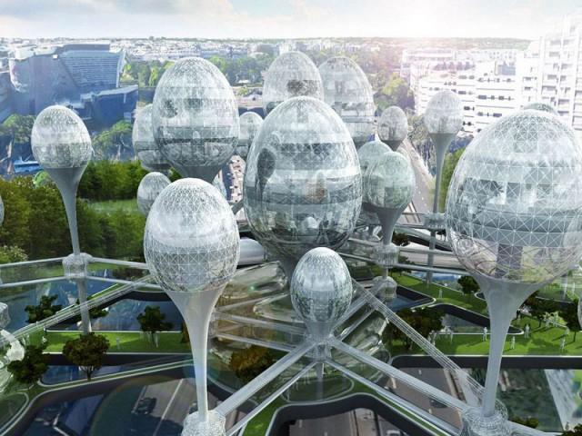 """""""Air nouveau de Paris"""" : un projet futuriste - """"Air nouveau de Paris"""""""