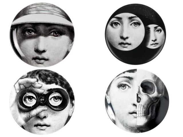 Des assiettes aux mille visages - Exposition Fornasetti aux Arts Déco