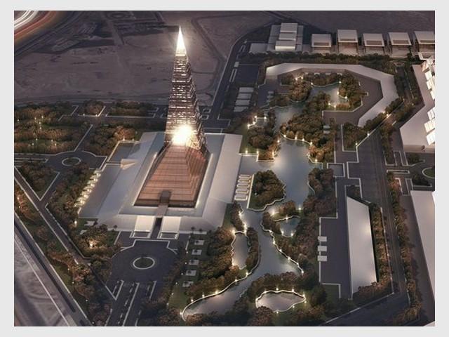 La nouvelle pyramide égyptienne - Une future tour pyramidale en Egypte