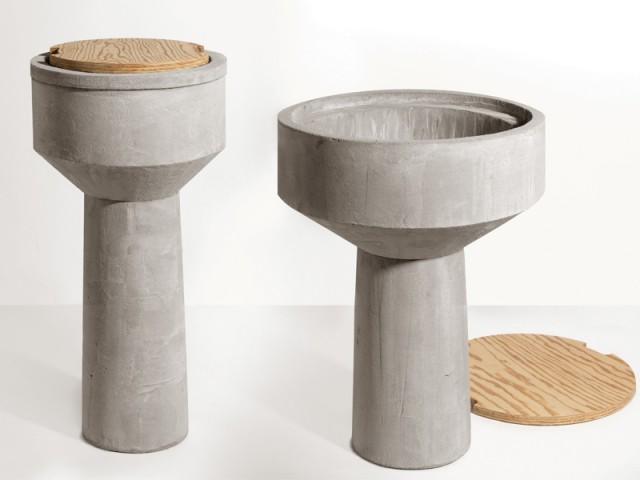 Des tables d'appoint comme des châteaux d'eau - Biennale de design Saint-Etienne 2015
