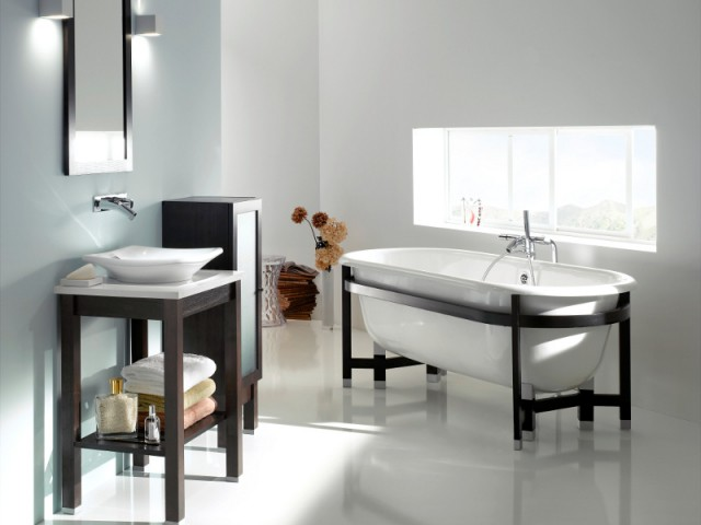 salles de bains r tro 10 photos pour vous inspirer. Black Bedroom Furniture Sets. Home Design Ideas