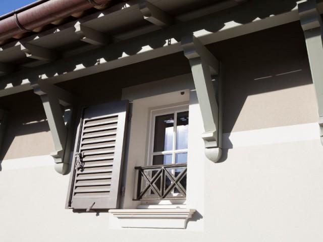 Des garde-corps dessinés pour la maison - Rénovation d'une maison provençale