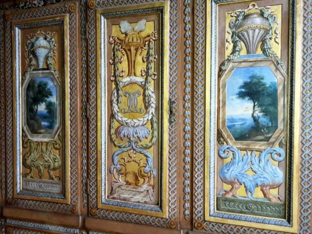 """Hôtel de Lauzun : cabinet dit """"bibliothèque"""""""