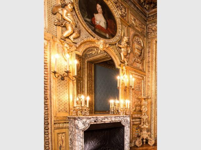 La chambre de Théophile Gautier et ses multiples secrets - Hôtel de Lauzun : chambre à alcôve