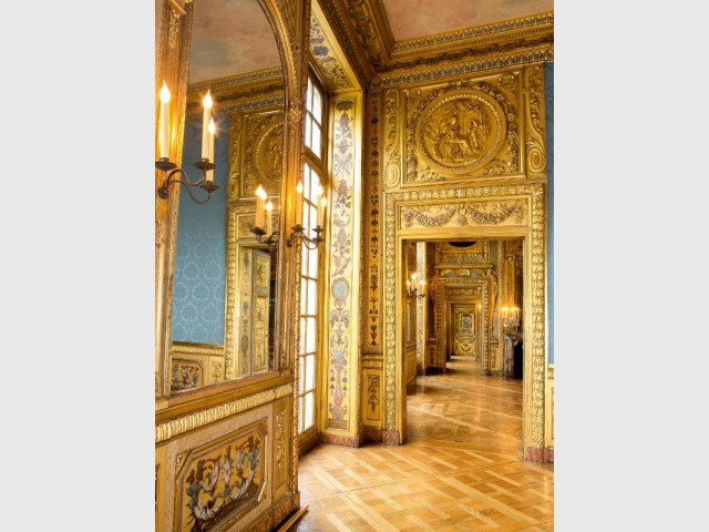 Hôtel de Lauzun : enfilade