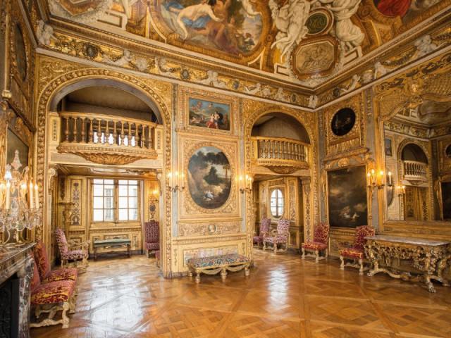 Charles Baudelaire et Fernand Boissard, locataire du salon de musique - Hôtel de Lauzun : chambre de parade
