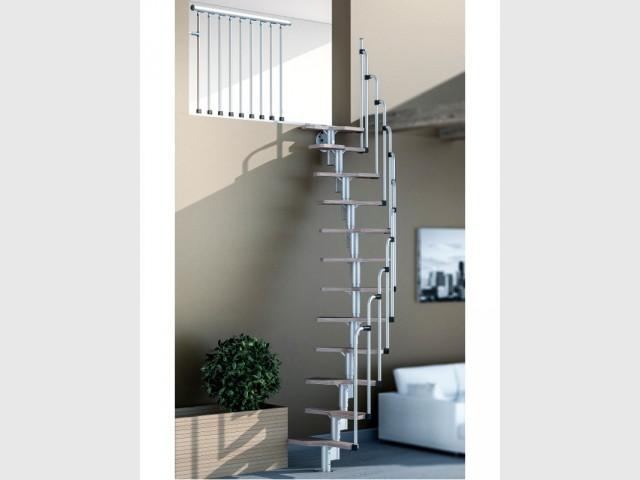 Petits espaces un escalier gain de place pour mon int rieur for Escalier colimacon gain de place