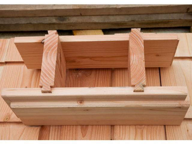 Quatre modèles pour une mise en œuvre facilitée - Les briques d'une maison en bois assemblées comme un jeu de Lego