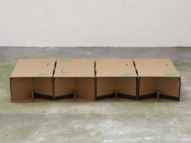 Lit modulable en carton Leafbed