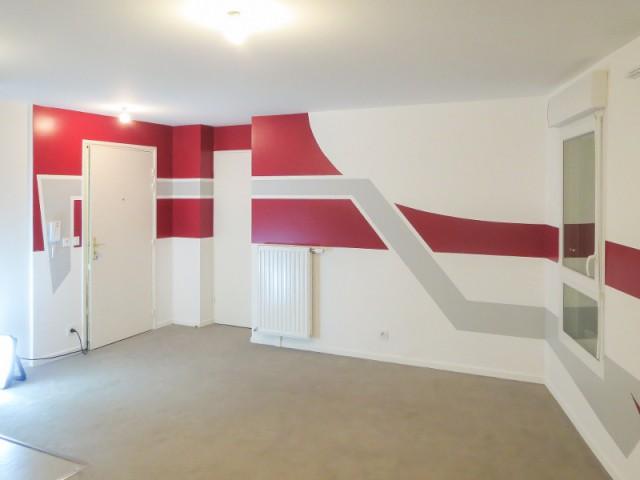 Un jeu de couleurs pour délimiter les zones d'un appartement 1/2 - Le design mural, solution pour dynamiser les intérieurs